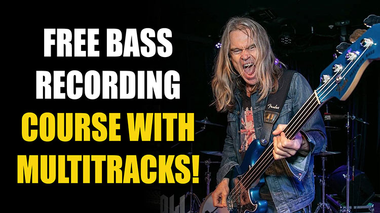 Recording & Producing Bass with Tony Franklin