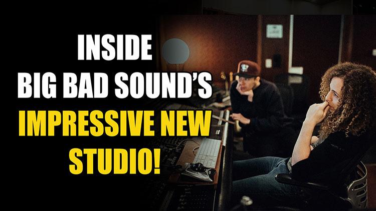 Big Bad Sound Studio Tour