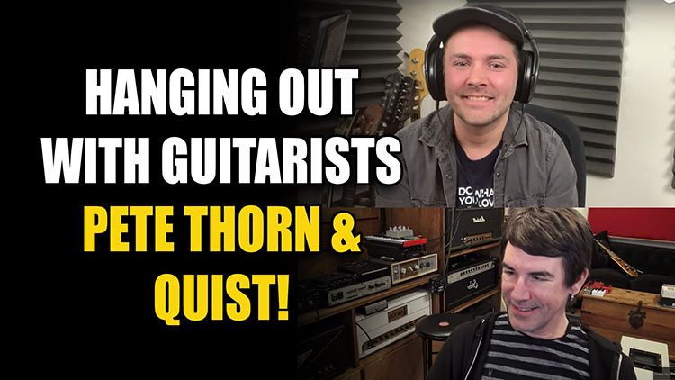 Pete Thorn and Quist750