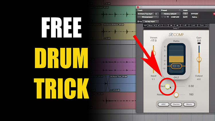 free drum trick750