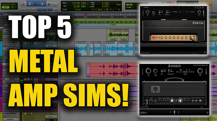 Metal Amp Sims750