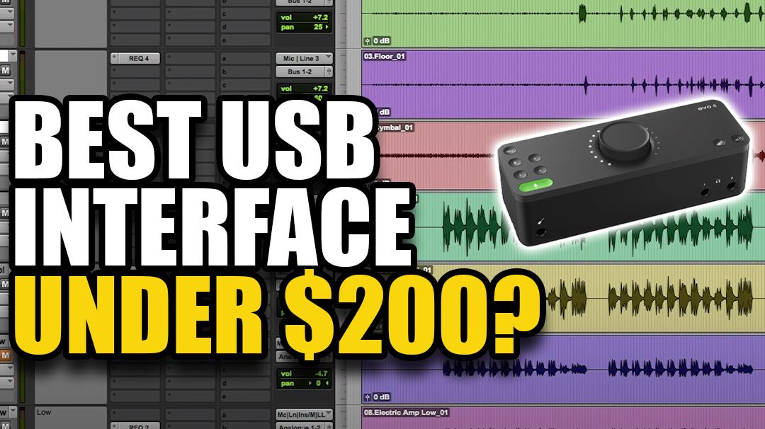 best usb interface under $200