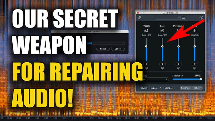 Audio Repair750