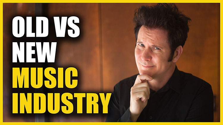 Old vs New Music Industry750