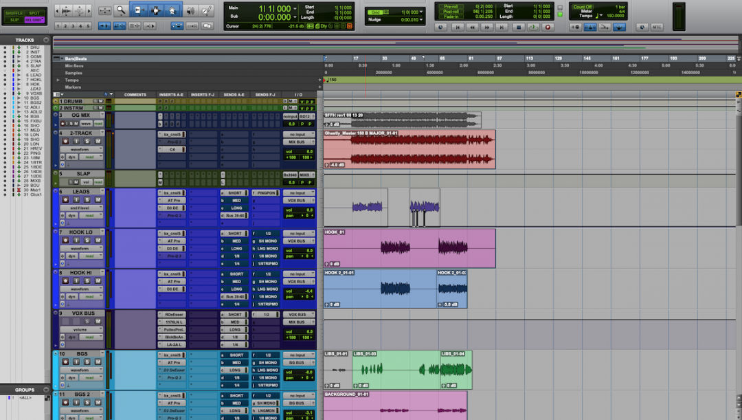 Pro Tools Shortcuts for Faster Session Navigation