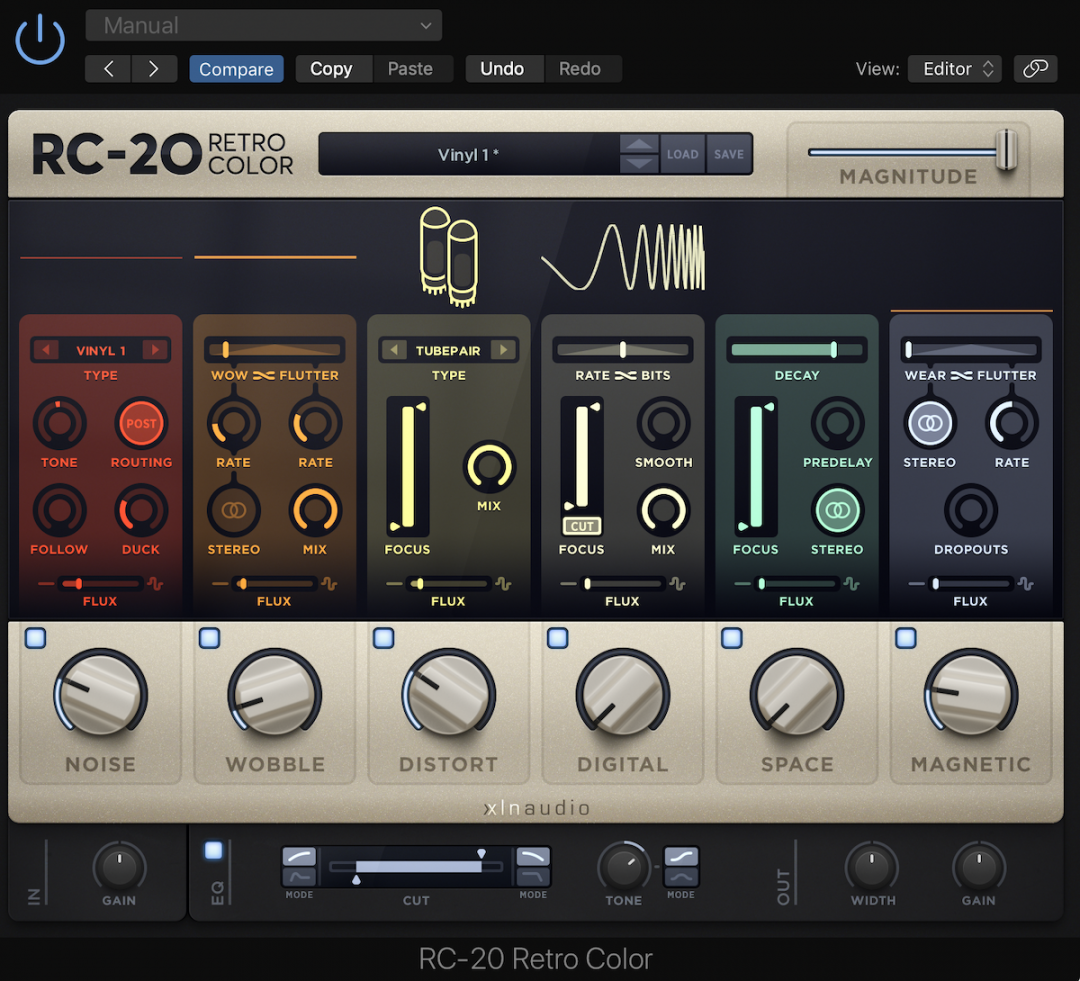 RC-20 Retro Color by XLN Audio
