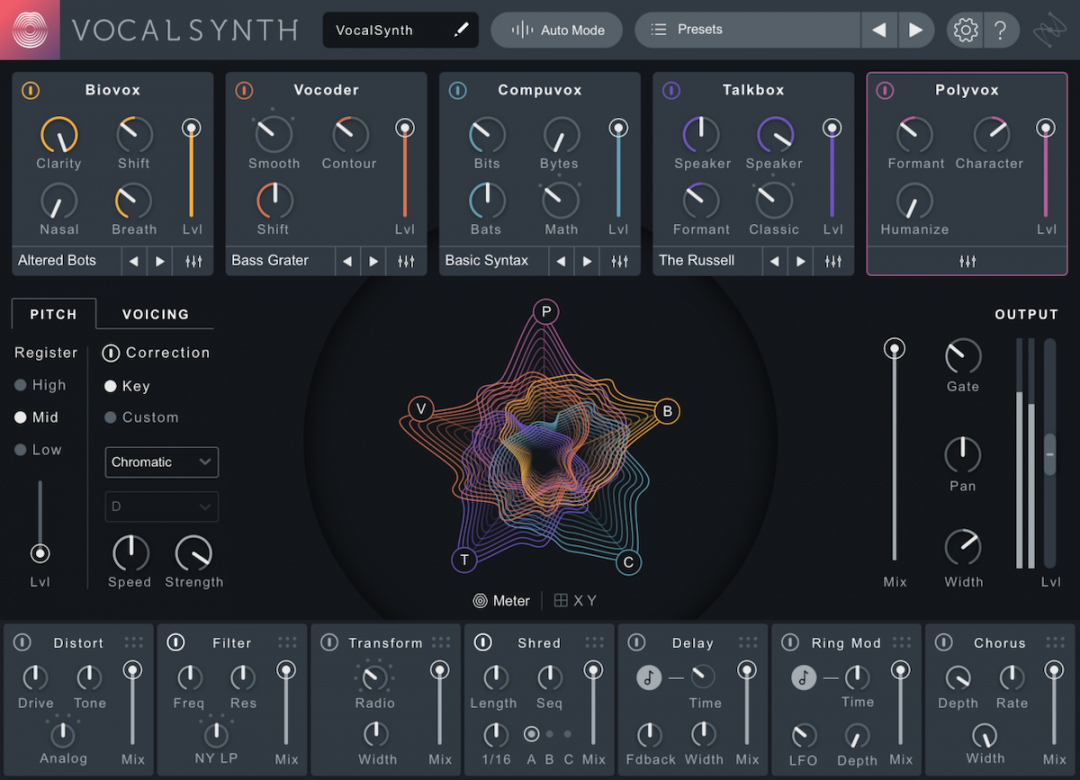 iZotope VocalSynth 2 Overview