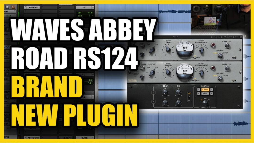 waves abbey road RS-124 review copy