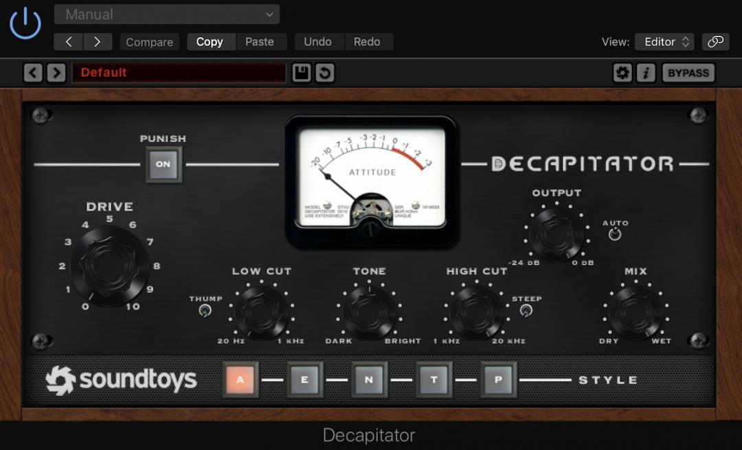 Soundtoys Decapitator | Grade-A Saturation