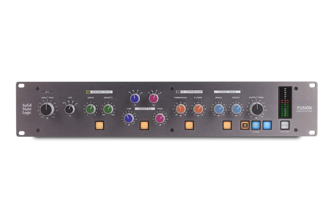 SSL Fusion- The Vintage Drive You Need?