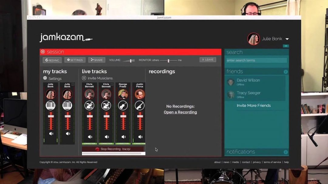 JamKazam Review- Collaborate Remotely